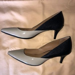 Two-toned Calvin Klein dress pumps